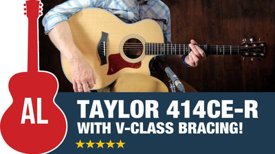 A Look at the Taylor 414CE-R Acoustic Guitar