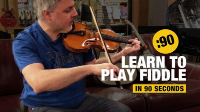 Learn to Play Fiddle in 90 Seconds!