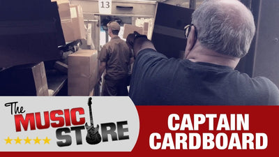 The Music Store: Captain Cardboard