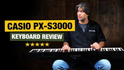 Casio PX-S3000 Privia Keyboard Review