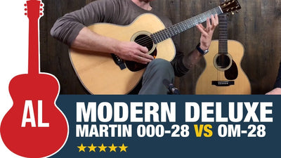 A Look at the Martin OM-28 & 000-28 Modern Deluxe Acoustic Guitars