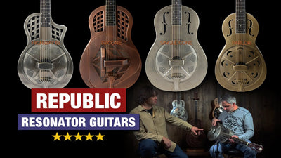 Republic Resonator Guitars at Music Villa
