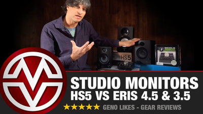 Studio Monitors at Music Villa (HS5 vs Eris 4.5 and 3.5)