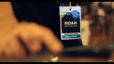 The Music Store: Noah The New Guy