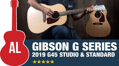 The New Gibson G-45 Acoustics | A Real American Gibson for the Working Musician