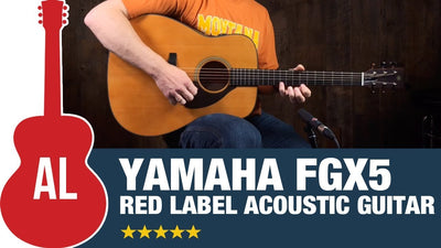 A Look at the Yamaha FGX5 Red Label Acoustic Guitar