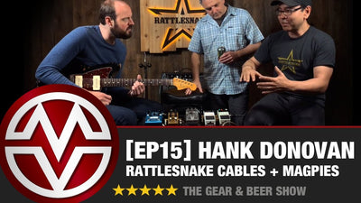 Gear & Beer Show - [EP15] Hank Donovan of Rattlesnake Cable Company