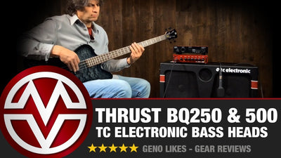TC Electronic Thrust Bass Heads - BQ250 and BQ500