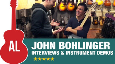 John Bohlinger at Music Villa (Interview & Instrument Demos)