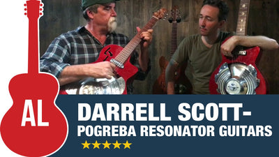 DARRELL SCOTT Playing Pogreba Resonator Guitars