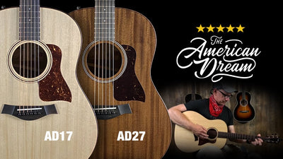 A Look at the Taylor American Dream Acoustic Guitar Lineup
