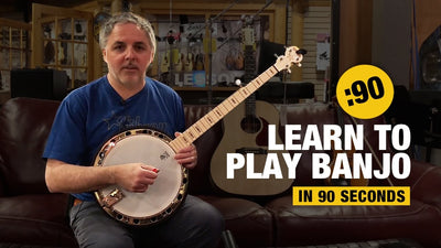 Beginner Banjo in 90 seconds!