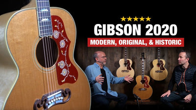 A Look at the New  2020 Gibson Acoustic Guitar Lines