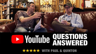 Quinton & Paul Answer Acoustic Letter YouTube Questions!