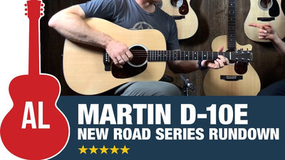 Review of the Martin D10e Road Series Acoustic