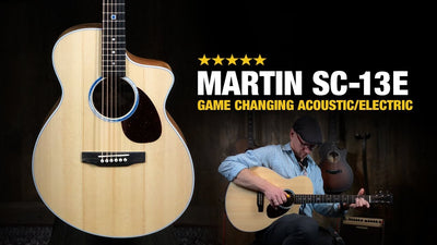 A Look at the Martin SC-13E Acoustic Guitar