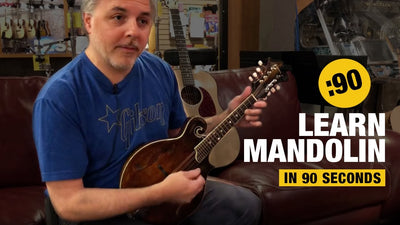 Play Mandolin in 90 Seconds - At Home Series