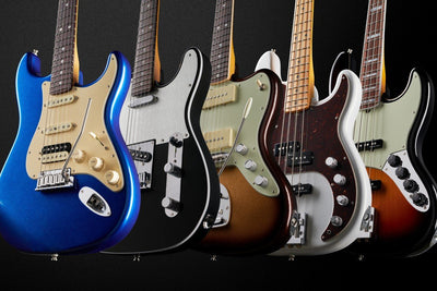 What is the Fender Ultra Guitar Line All About?