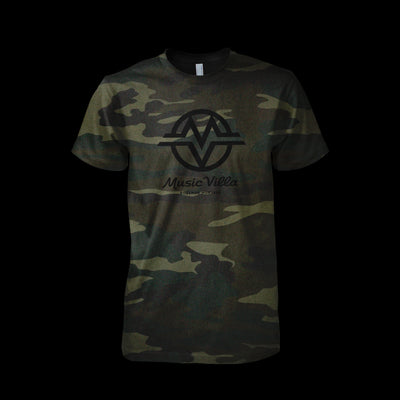 Limited Edition Camo MV Logo T-Shirt