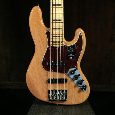 Fender American Ultra Jazz Bass 5-String Natural