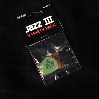 Dunlop Top Picks - Variety #3 Jazz 12 Pack