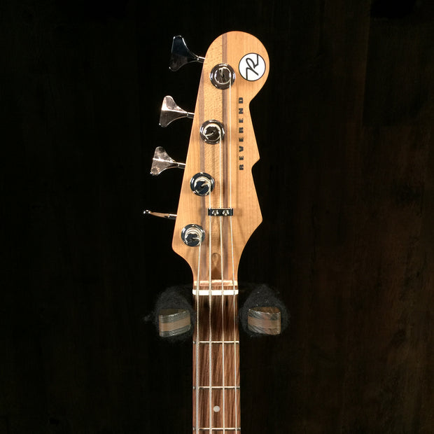 Reverend Mercalli 4 String Bass Metallic Alpine