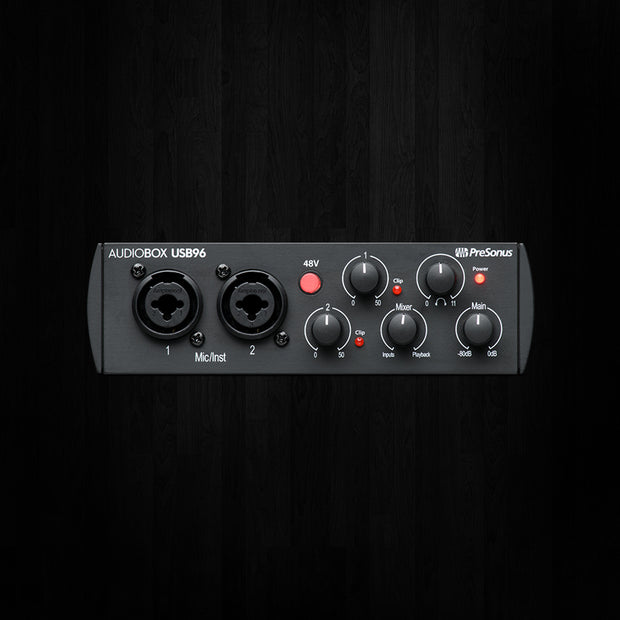 Presonus Audiobox 96k 25th Anniversary Interface