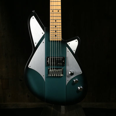 Reverend BC1 Billy Corgan Signature 2010s Satin Blue Sea Blue Burst