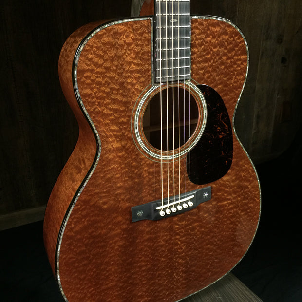 Martin Custom Shop 42 Style, 0000 Quilted Sapele
