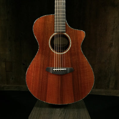 Breedlove Pursuit Exotic Concert CE Koa-Koa