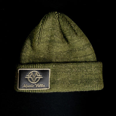Wooly Cuff Patch Beanie