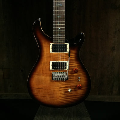 Paul Reed Smith 35th Anniversary SE Custom 24 Black Gold Wrap Burst 0841