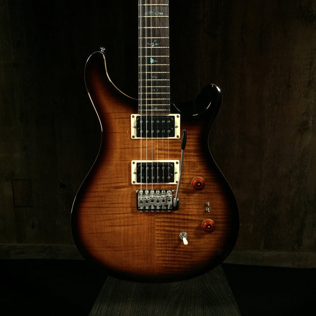 Paul Reed Smith 35th Anniversary SE Custom 24 Black Gold Wrap Burst 0929