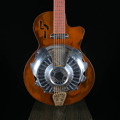 Pogreba 54 Rootbeer Clipper Resonator Guitar (Consignment)