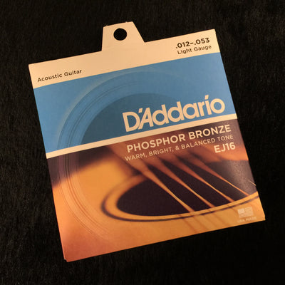 D'Addario EJ16 Light Guage 12-53