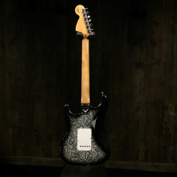 Fender Limited Edition '68 Paisley Strat Relic 2019 Black Paisley