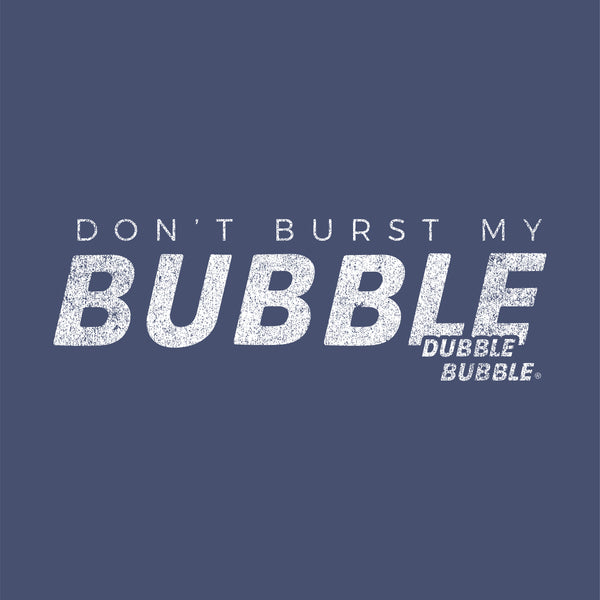 Burst My Bubble! Dubble Bubble® Tee | Vintage Bubble Gum T-shirt | Bubble Gum Unisex Shirt