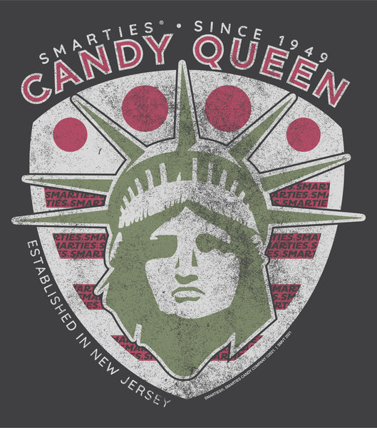 Smarties® Candy Queen Unisex Shirt | Est. in New Jersey Shirt | Childhood Candy Graphic Tee