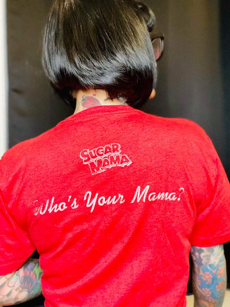 Sugar Mama | Who's Your Mama? | Shirts for Mom | Vintage Candy Tee | Mother's Day Gift