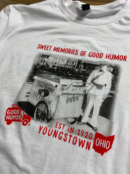 Good Humor™ Ice Cream Man Tee | Vintage Ice Cream Shirt | Youngstown Ohio Unisex T-Shirt