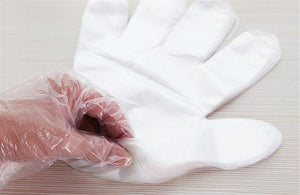 100PCS Eco friendly Disposable Gloves PE Chemistry - Tresella