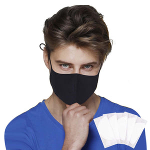 Men Face Mask With 5pcs Gasket Pad