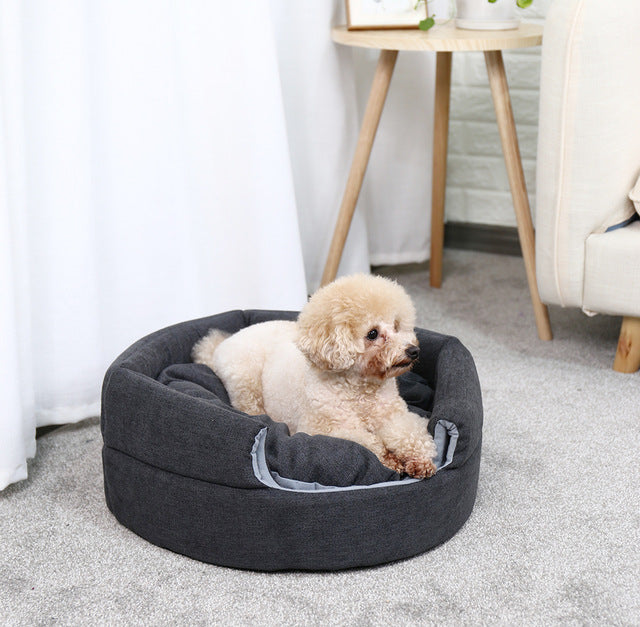 2 In 1 Pet Dog Beds Warm Pet House Luxury Dog - Tresella