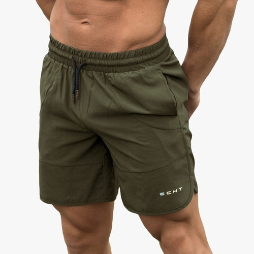 New Men Gyms Fitness Loose Shorts