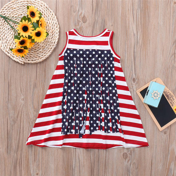 Baby Girls Dress Summer Clothing Toddler Girls - Tresella