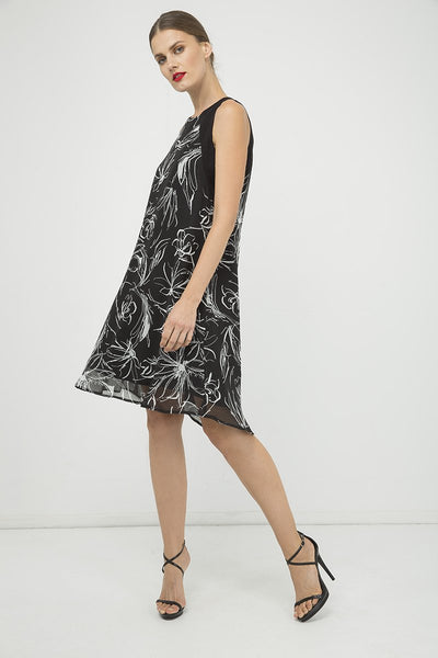 Summer A Line Chiffon Dress
