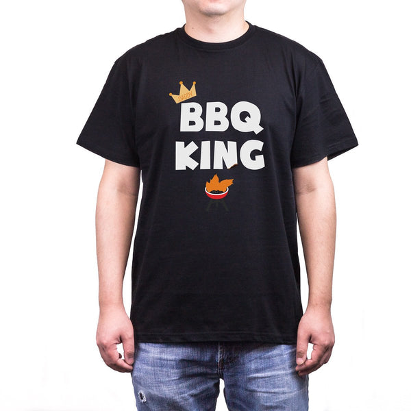 Bbq King Daddy Men's T-Shirt - Tresella