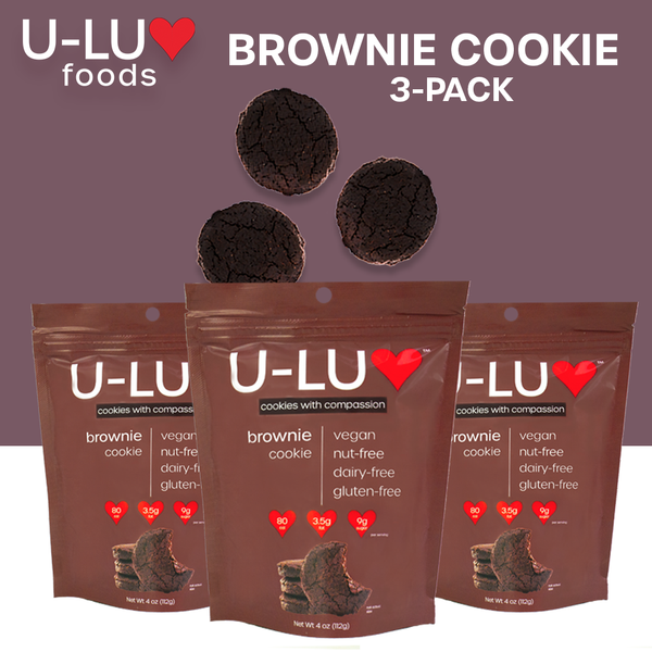 Brownie Cookies (3-Pack) -- Free 30ML Hand Sanitizer with every order! - Tresella