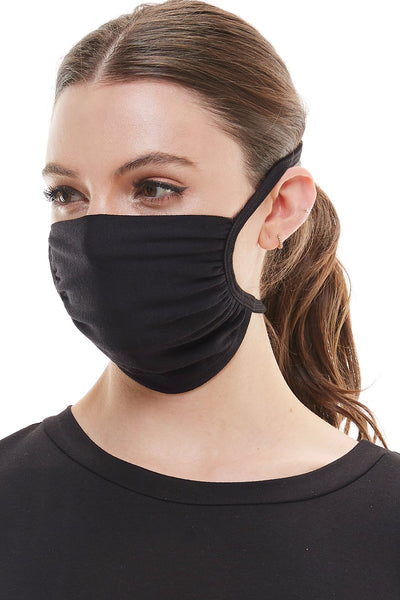 Cloth tie face covering washable reusable fabric face mask - Tresella