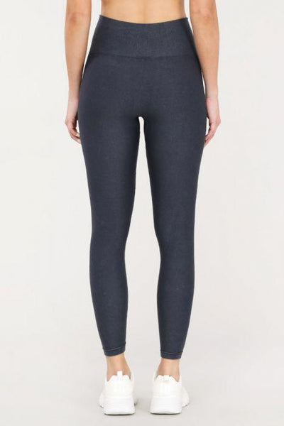 Distressed Seamless Highwaist Leggings - Tresella